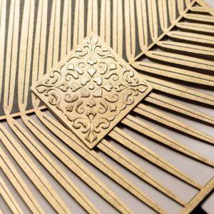 Gold Elegance-Einladungskarten