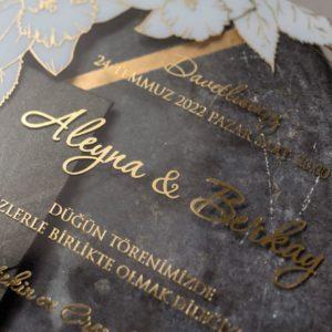 Transparente Hochzeitskarten